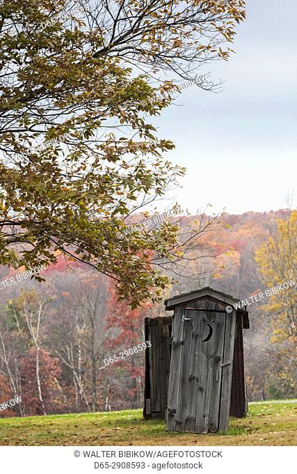 USA, Pennsylvania, Eckley, Eckley Miners Village, fomer mining village