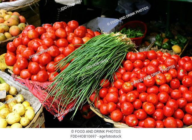 Tomatoes, Grande Baie, Mauritius