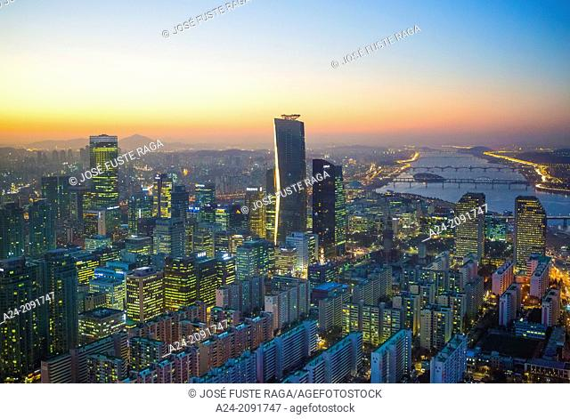 Korea , Seoul City, Yeouido Distric , The International Financial Center