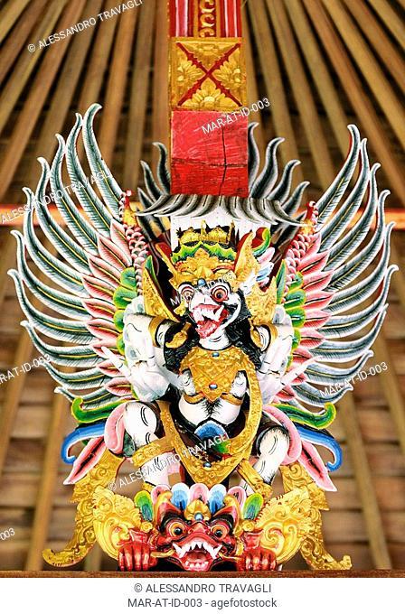 Pura Ulun internal Indu Buddist temple decoration, Bali, Indonesia