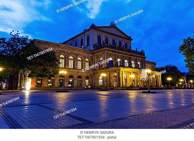 Hanover Opera House Hanover (Hannover), Lower Saxony, Germany