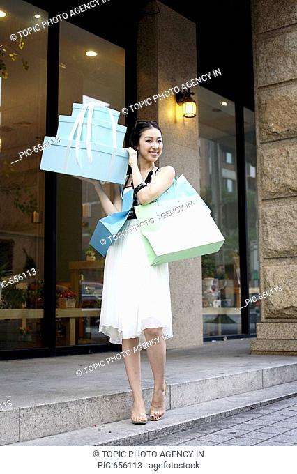 Woman at Shopping,Korea