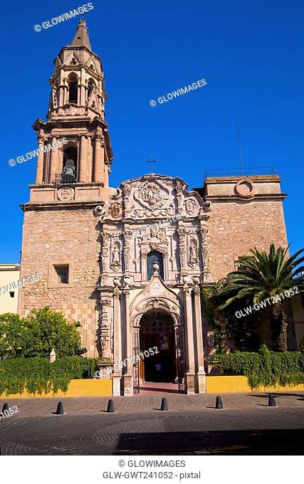 Facade of a church, Iglesia De La Misericordia, Aguascalientes, Mexico