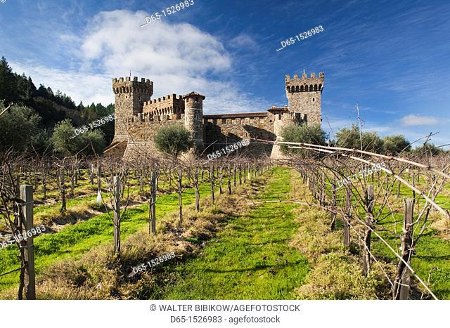 A Vineyard In The Napa Valley Stock Photos And Images Age Fotostock