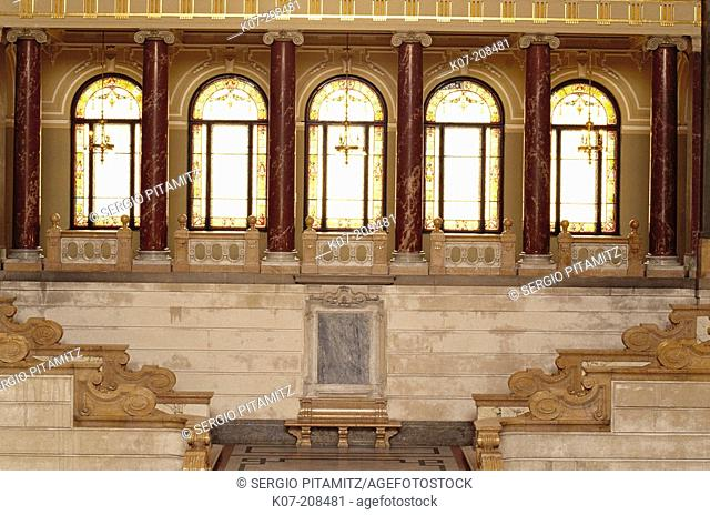 Ethnographical Museum. Budapest. Hungary