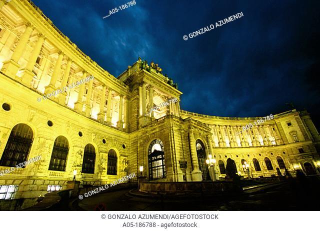 Hofburg Palace. Vienna. Austria