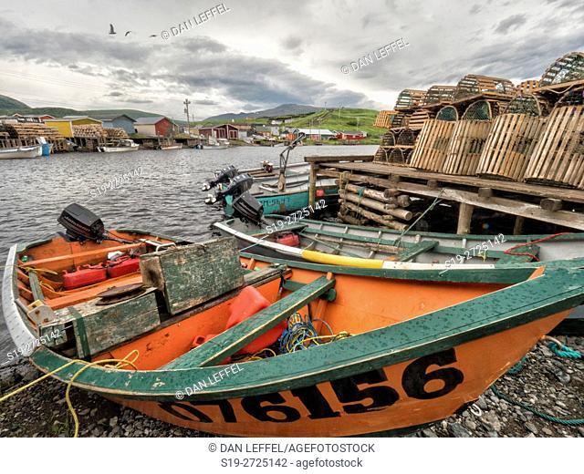 Trout River Newfoundland Harbor