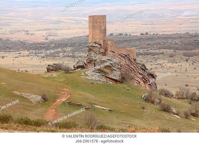 Castle of Zafra in Campillo de Dueñas. Guadalajara. Castile-La Mancha. Spain