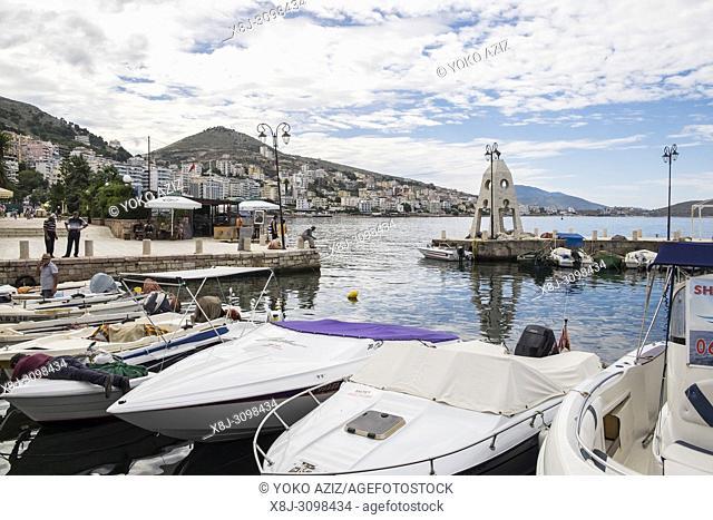 Albania, Sarande, daily life