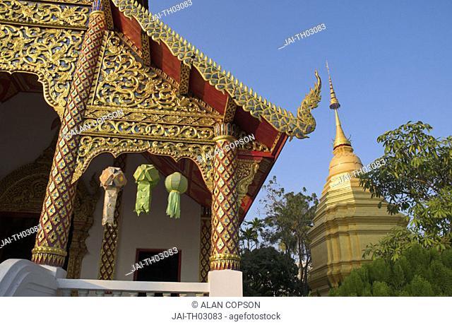 Wat Chai Pra Kait, Chiang Mai, Thailand