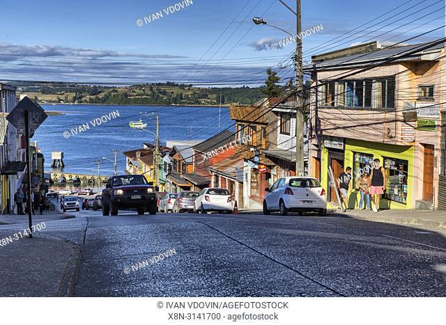 Castro, Chiloe island, Los Lagos region, Chile