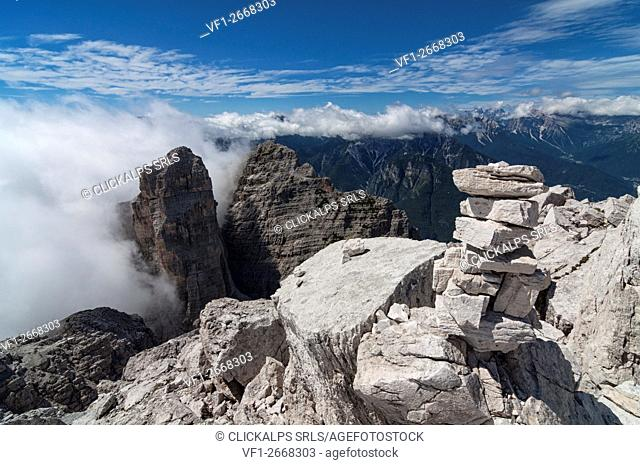 Sasso di Bosconero, Dolomites, Zoldo Valley, Veneto, Belluno, Italy