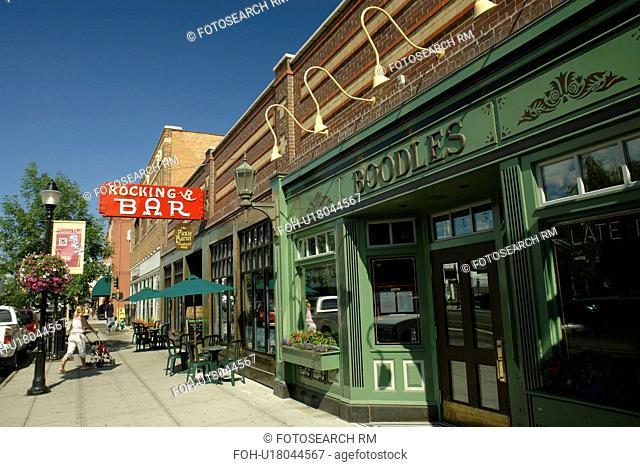 Bozeman, MT, Montana, downtown, Rocking R Bar