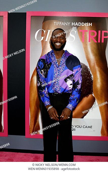 LA premiere of 'Girls Trip' at the Regal LA Live Stadium 14 in Los Angeles, California. Featuring: Kofi Siriboe Where: Los Angeles, California