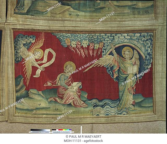 La Tenture de l'Apocalypse d'Angers, L'Ange au livre 1,49 x 2,47m, Der Engel mit dem Buch
