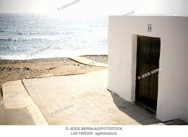 House in Beach, Las Negras, Natural Park Cabo de Gata-Nijar, Almeria, Spain