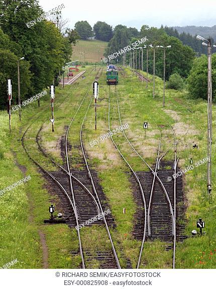 railway, Nowy Lupkow, Poland