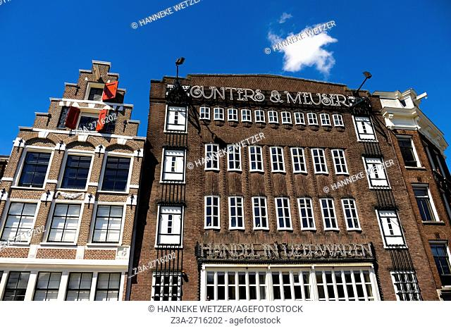 Gunters & Meuser building in Amsterdam, the Netherlands, Europe