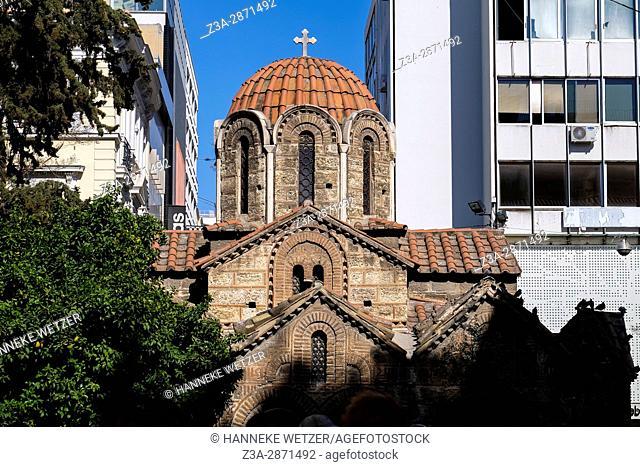 The Church of Kapnikarea, Athens, Greece