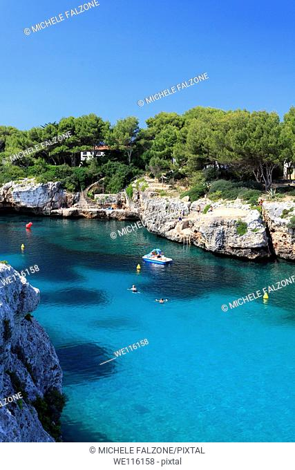 Spain, Balearic Islands, Cala en Blanes beach