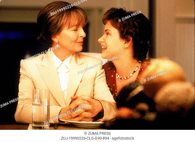 Feb 26, 1999; Los Angeles, CA, USA; Actress DIANE KEATON stars as Elizabeth Tate and JULIETTE LEWIS stars as Carla Tate in the Touchstone Pictures romantic...