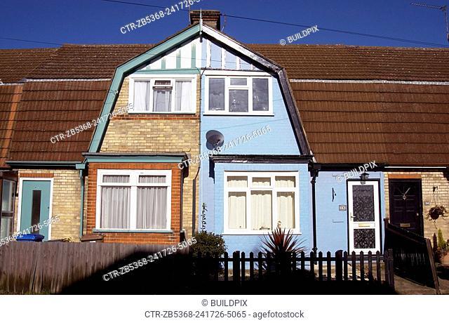 Council housing, East London