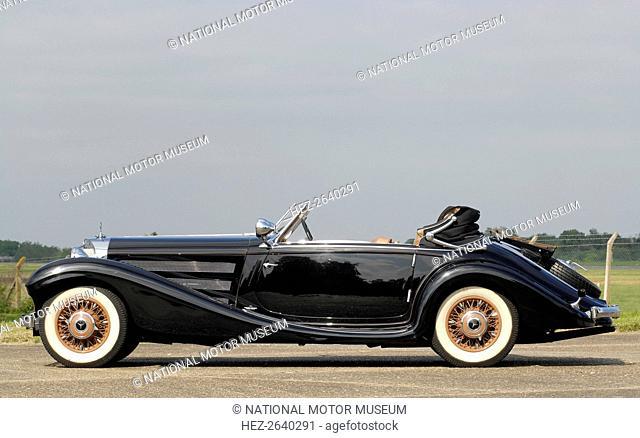 1935 Mercedes Benz 500K Artist: Unknown