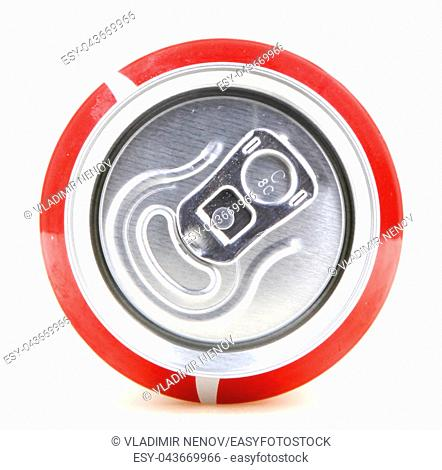AYTOS, BULGARIA - JANUARY 28, 2014: Coca-Cola isolated on white background. Coca-Cola is a carbonated soft drink sold in stores, restaurants