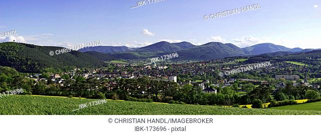 View of the town Berndorf, Lower Austria, Austria