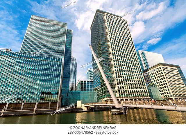 Canary Wharf. London, England