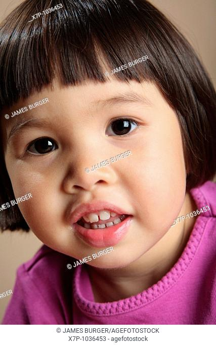 Asian Toddler Girl