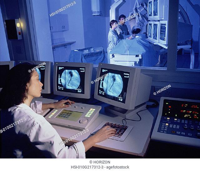 Medical & Pharmaceutical, Hospital, Angiography