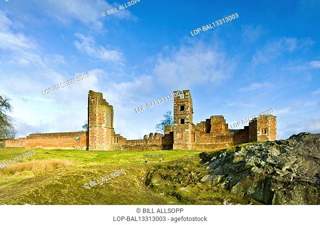 England, Leicestershire, Newtown Linford. Bradgate House was the birthplace of Lady Jane Grey
