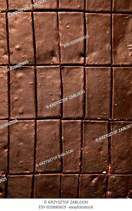 Chocolate cake food background