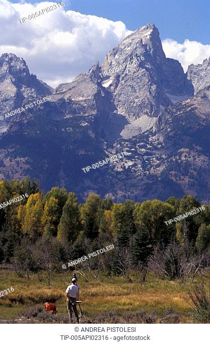 USA, Wyoming, Grand Teton National Park, Tetons