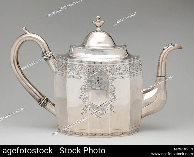 Coffeepot. Maker: Robert and William Wilson (active ca. 1825-ca.1846); Date: ca. 1830; Geography: Made in Philadelphia, Pennsylvania