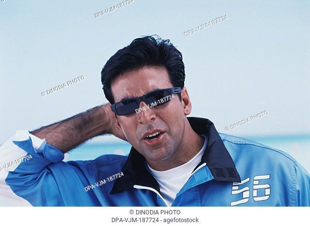 2004, Portrait of Indian film actor Akshay Kumar