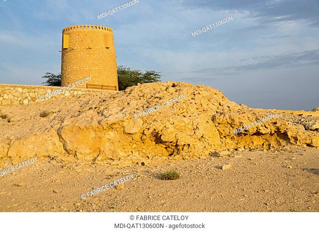 Qatar - Al Khor - Loockout tower on the corniche