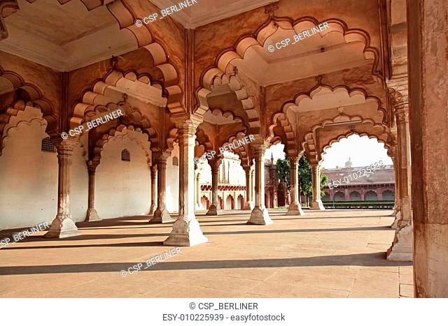 Hall of Public Audience Agra Fort