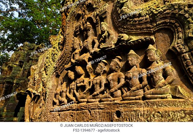 Ta Phrom Temple  Angkor  Siem Reap town, Siem Reap province  Cambodia, Asia
