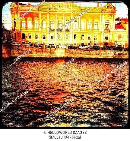 Neo Baroque Beloselsky Belozersky Palace, Saint Petersburg, Russia