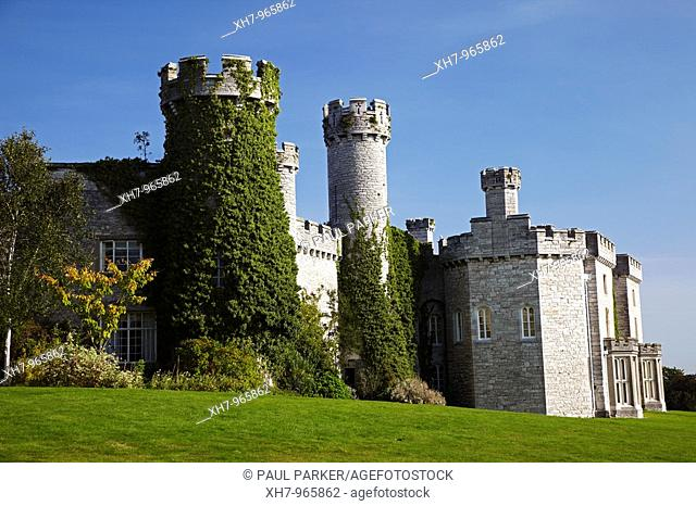 Bodelwyddan Castle, North Wales, UK