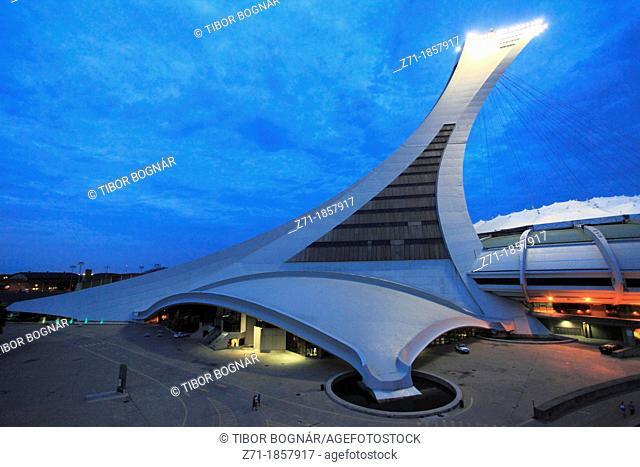 Canada, Quebec, Montreal, Olympic Stadium