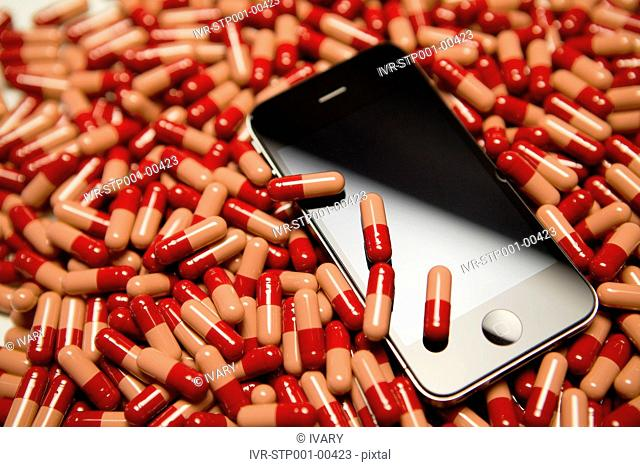 Mobile Phone With Medicine
