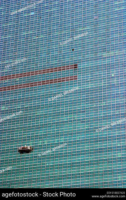 Fensterputzer in New York