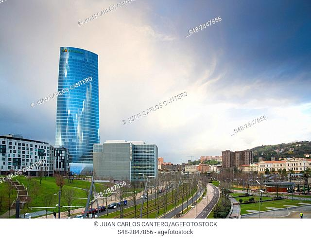 Torre Iberdrola en Bilbao. Vizcaya. País Vasco. España