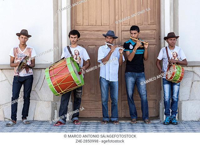 Flute band - Fife Band - Milagres - Ceará - Brazil