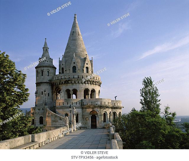 Buda, Budapest, Fishermen's bastion, Heritage, Holiday, Hungary, Europe, Landmark, Tourism, Travel, Unesco, Vacation, World