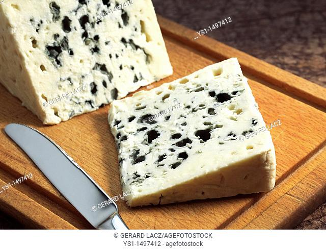French Cheese called Roquefort, Cheese made from Ewe's Milk