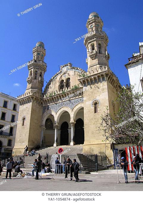 Mosque Djamaa Ketchaoua (cathedral during French occupation), Algiers, Algeria